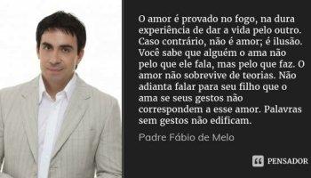 Padre Fábio De Melo A Chama Do Amor Próprio Estou Pensando Em Deus